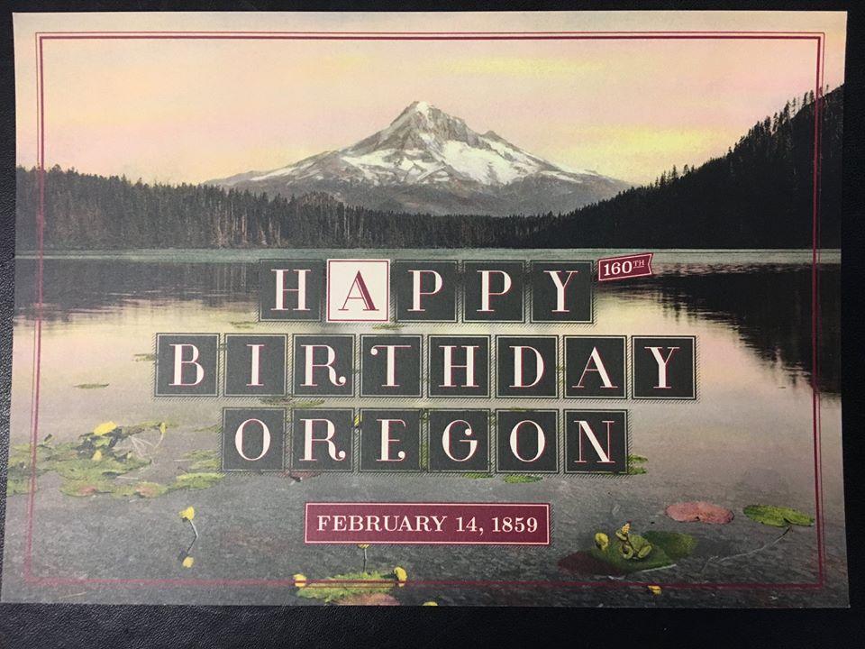 Happy 160th birthday to Oregon