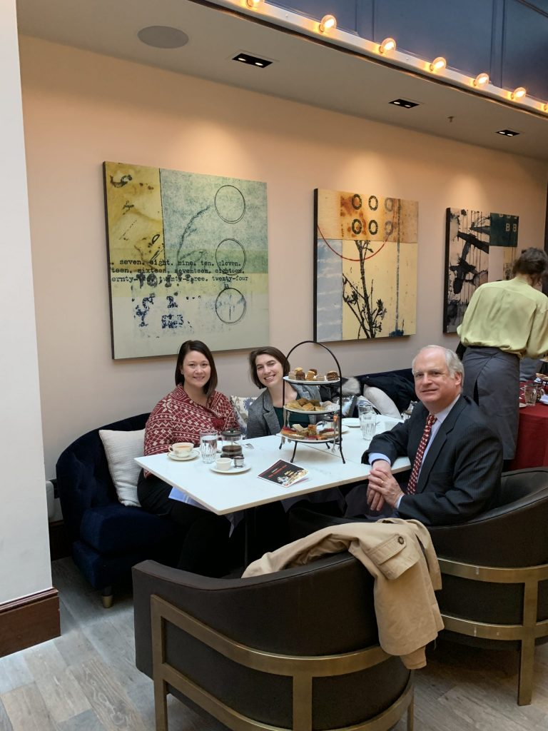 Alterman Law Group enjoys formal Russian Tea at the Heathman