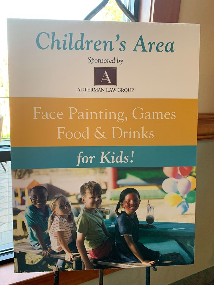 ALG sponsored the children's play area at the Real Estate and Land Use annual meeting